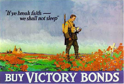 Canadian Victory Bonds poster